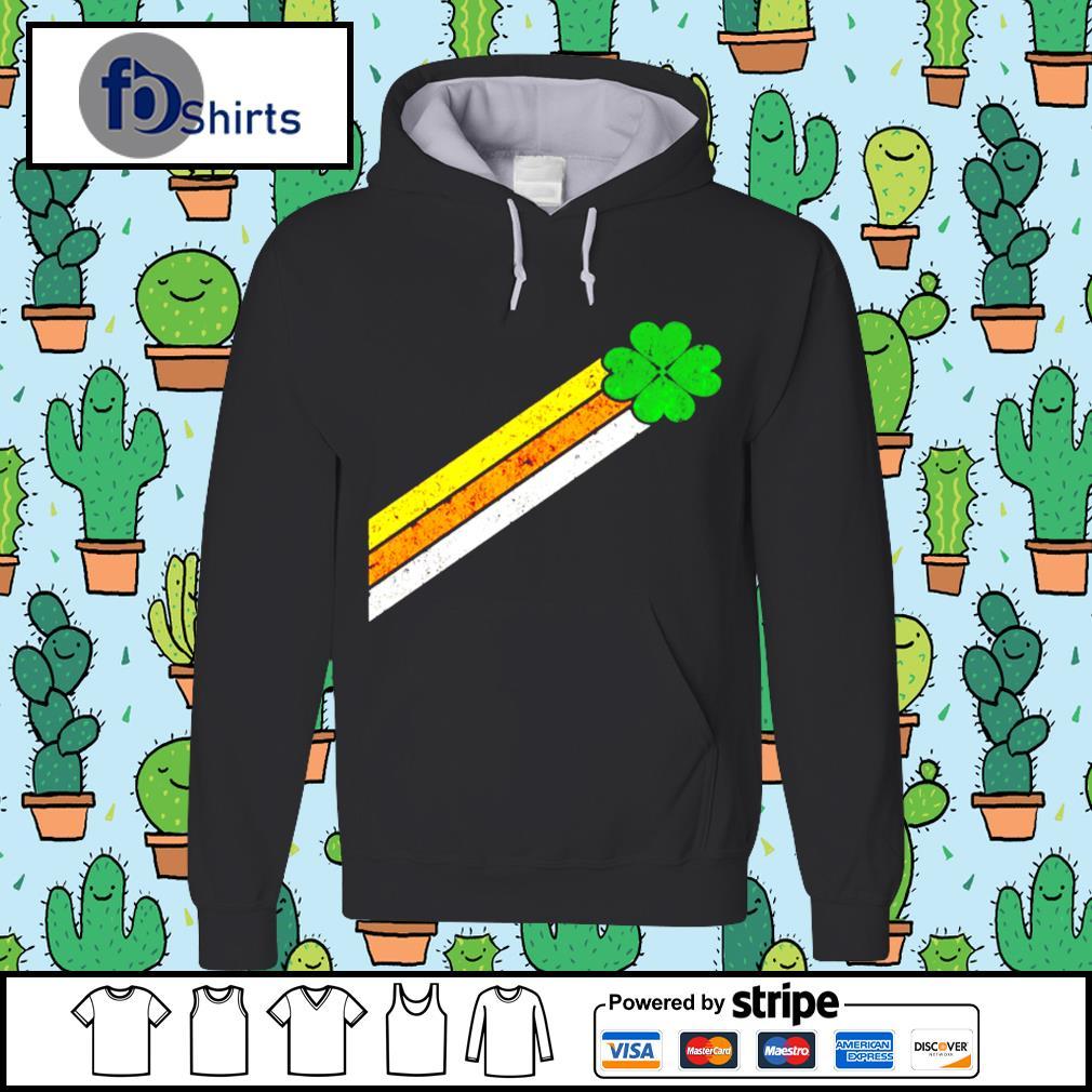 Retro Irish Clover Comet Gift Shirt hoodie