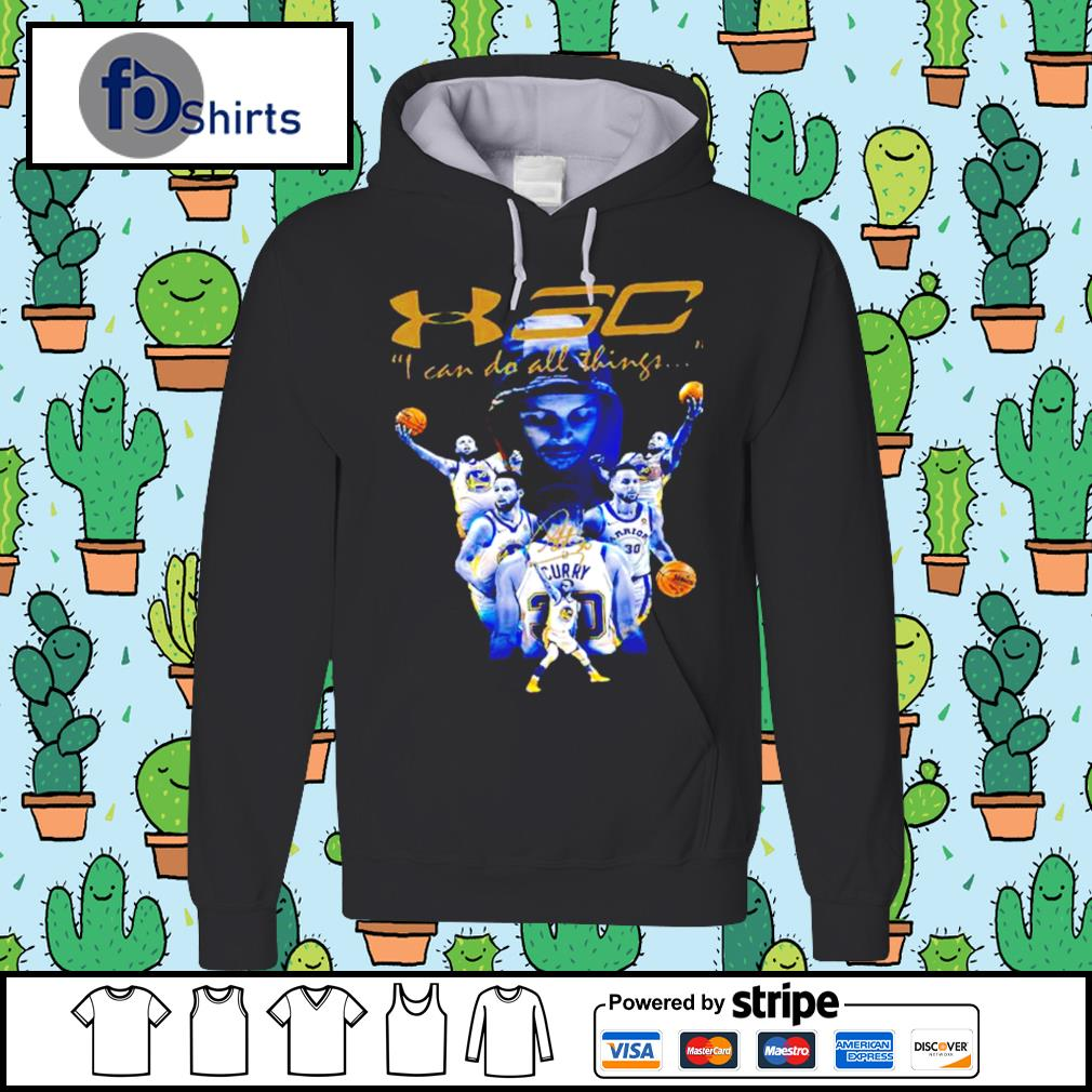 Stephen Curry I Can Do All Things Golden State Warriors Signature hoodie