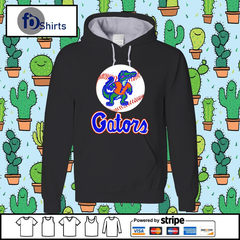 Top Florida Gator Baseball logo hoodie
