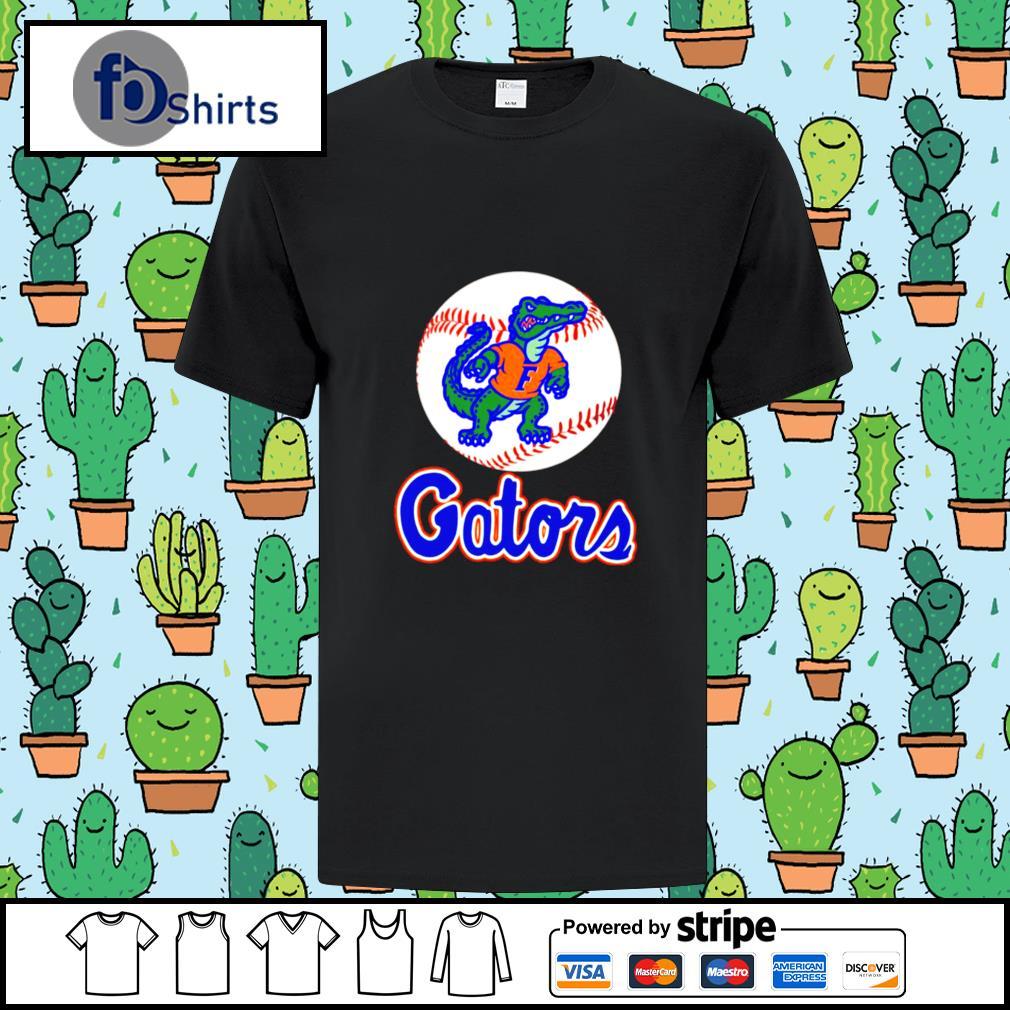 Top Florida Gator Baseball logo shirt