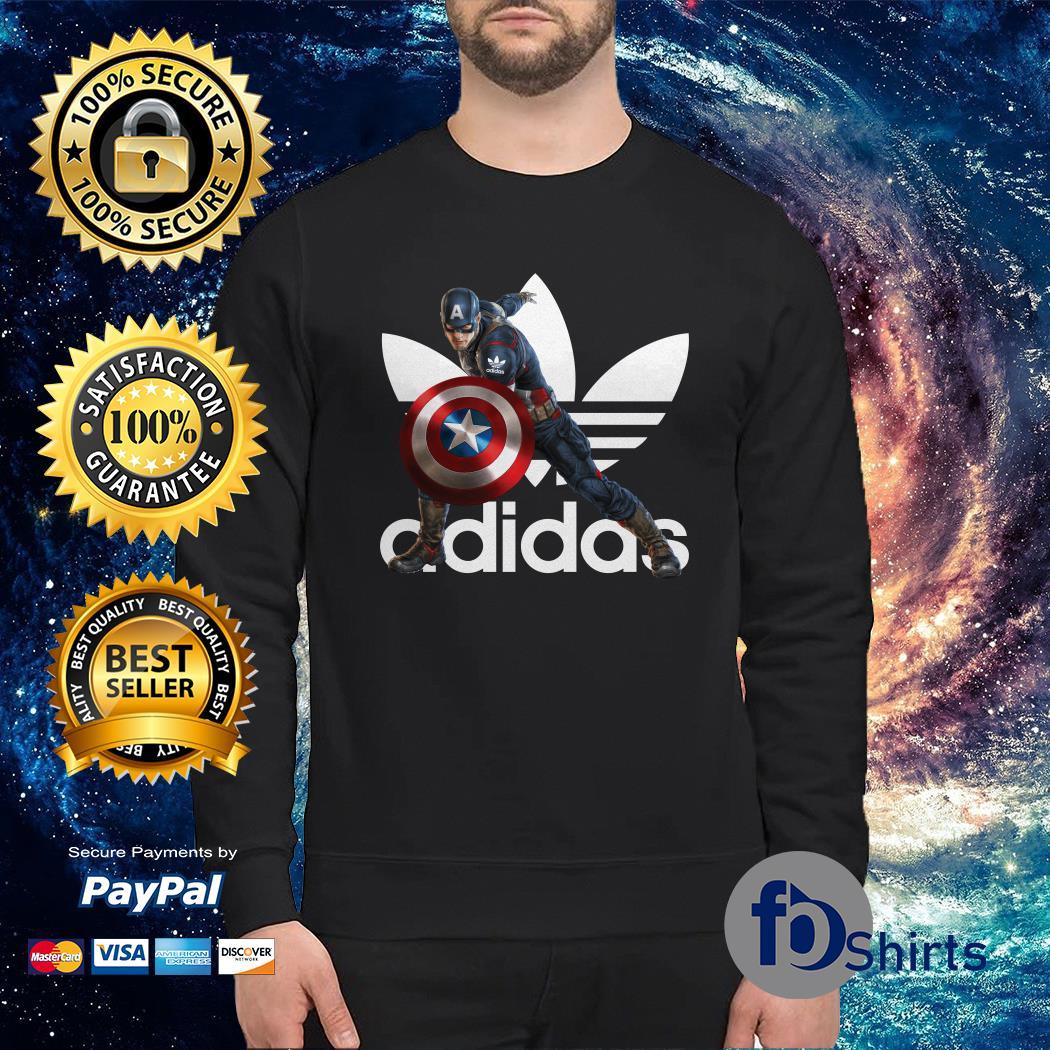 Adidas x mcu Captain america marvel Sweater