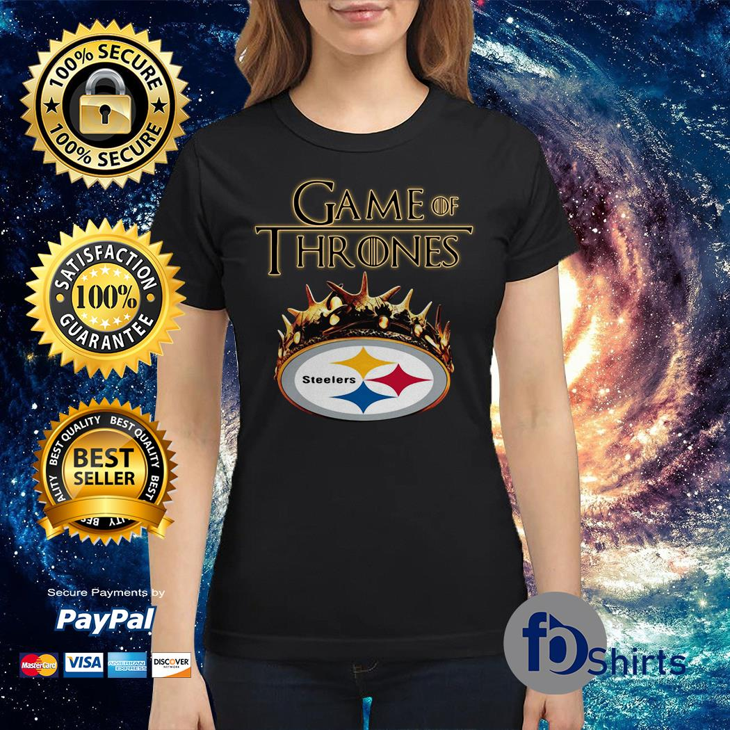 9c71a032b Game of thrones pittsburgh steelers Ladies tee