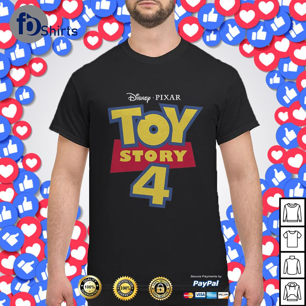 Toy Story Toddler's 4 Design Classic Logo shirt