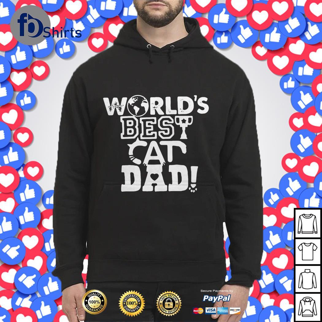 World's best cat dad Hoodie
