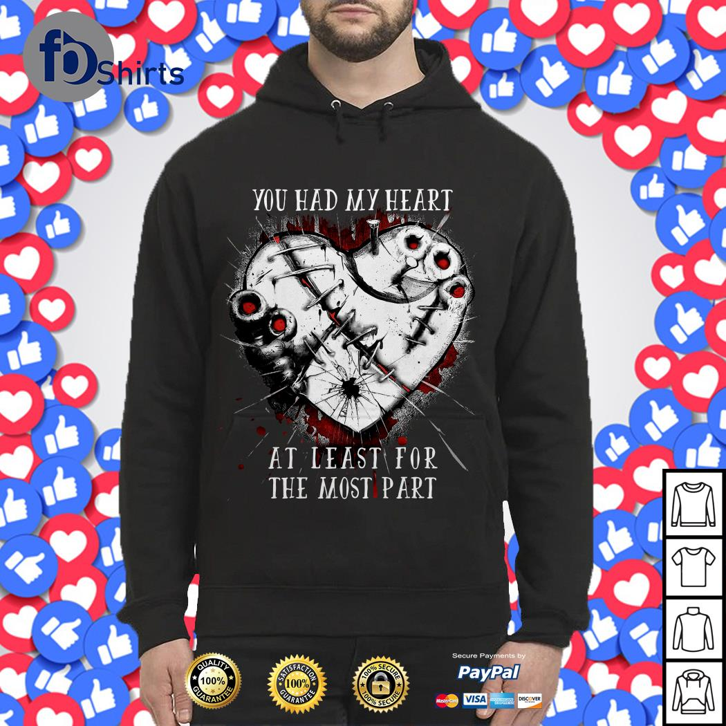 You had My Heart at Least for the Most part Hoodie