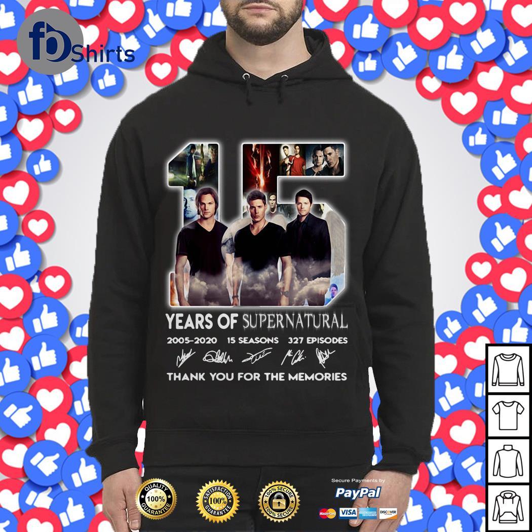 15 year of supernatural Hoodie