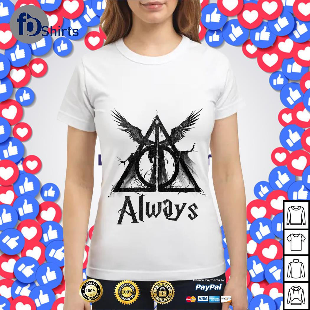 Harry Potter Deathly Hallows Always shirt