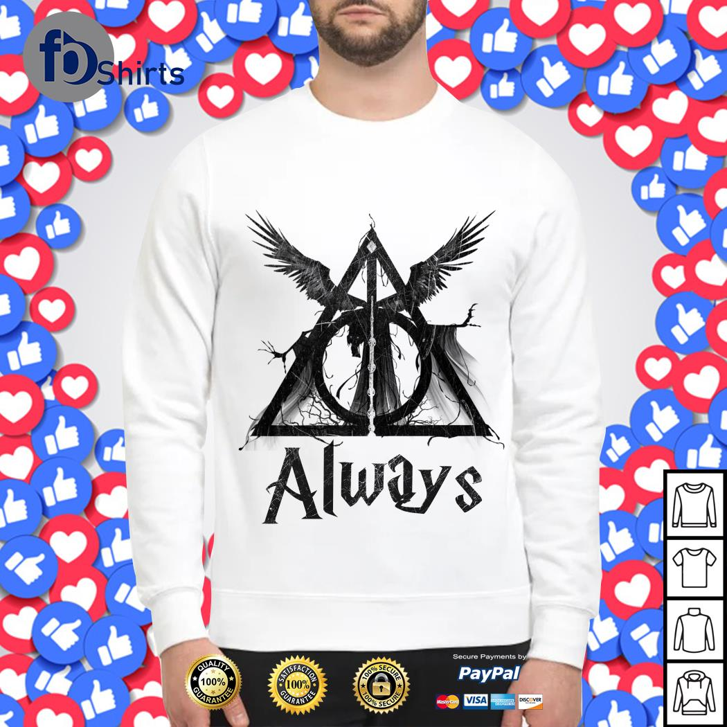 Harry Potter Deathly Hallows Always Sweater