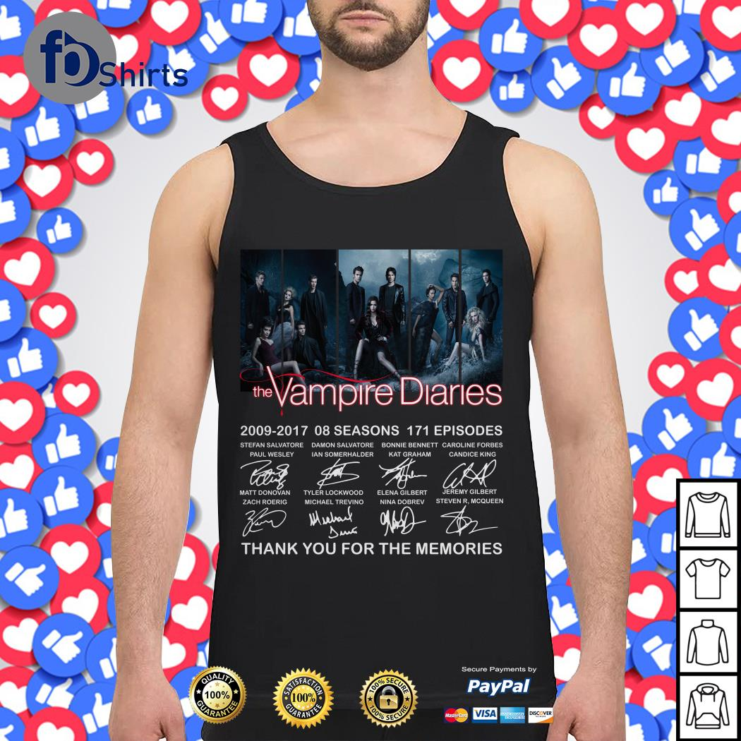 The Vampire Diaries 2009-2017 08 seasons 171 episodes signature Sweater