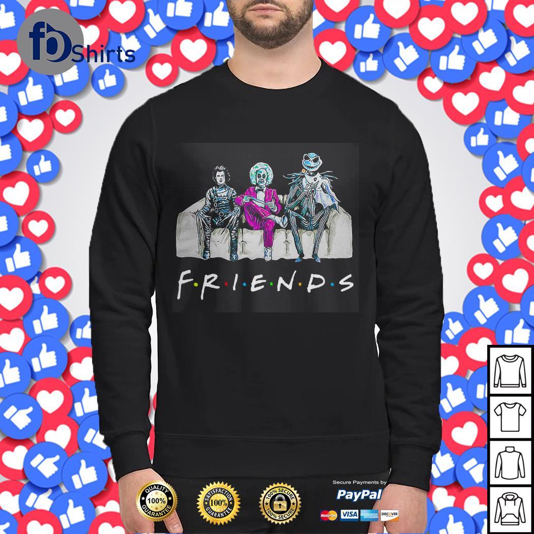 Beetlejuice Edward Scissorhands Jack Skellington Friends Sweater