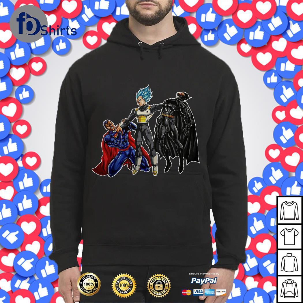 Vegeta vs Superman And Batman Hoodie
