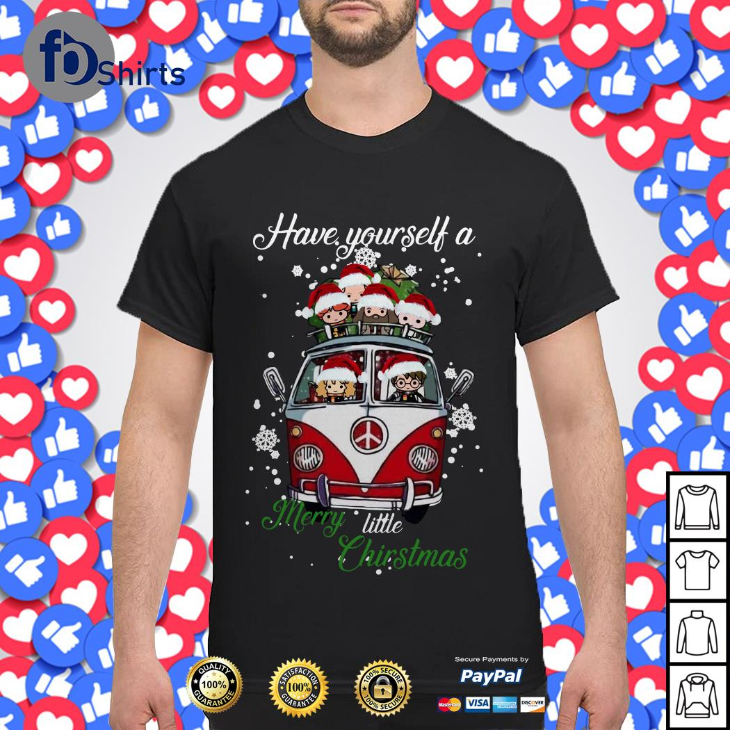 Do It Yourself Christmas Shirts.Hippie Car Harry Potter Have Yourself A Merry Little