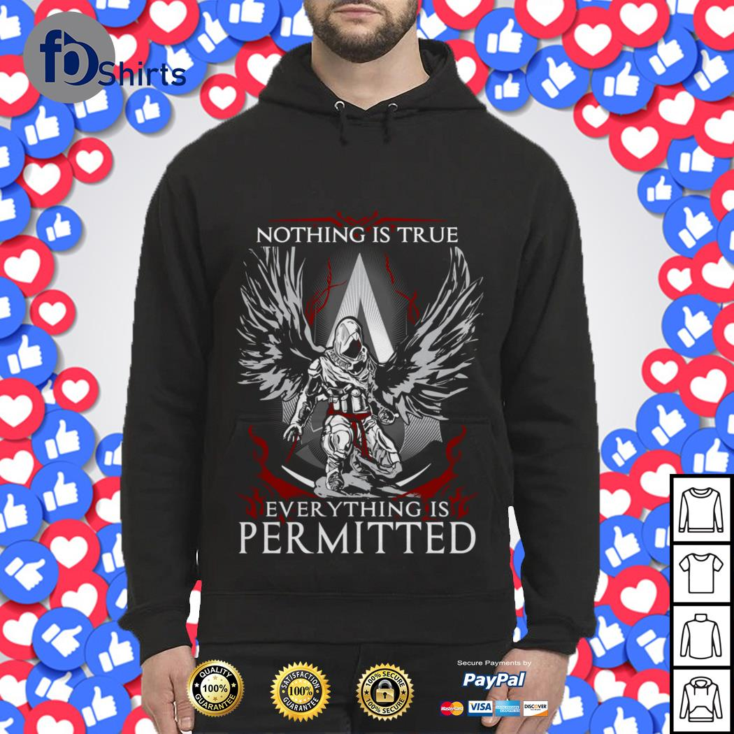 Nothing Is True Everything Is Permitted Assassin S Creed Shirt