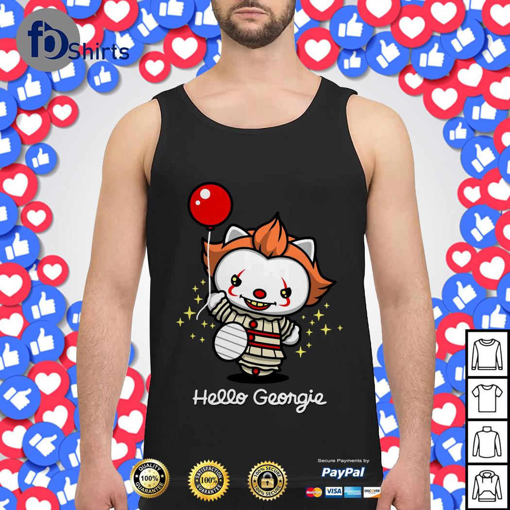 Pennywise cat hello Georgie Tank top