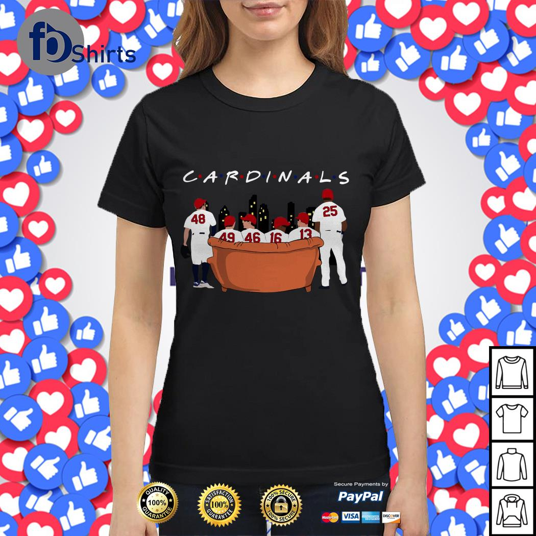 St. Louis Cardinals Friends TV Show shirt