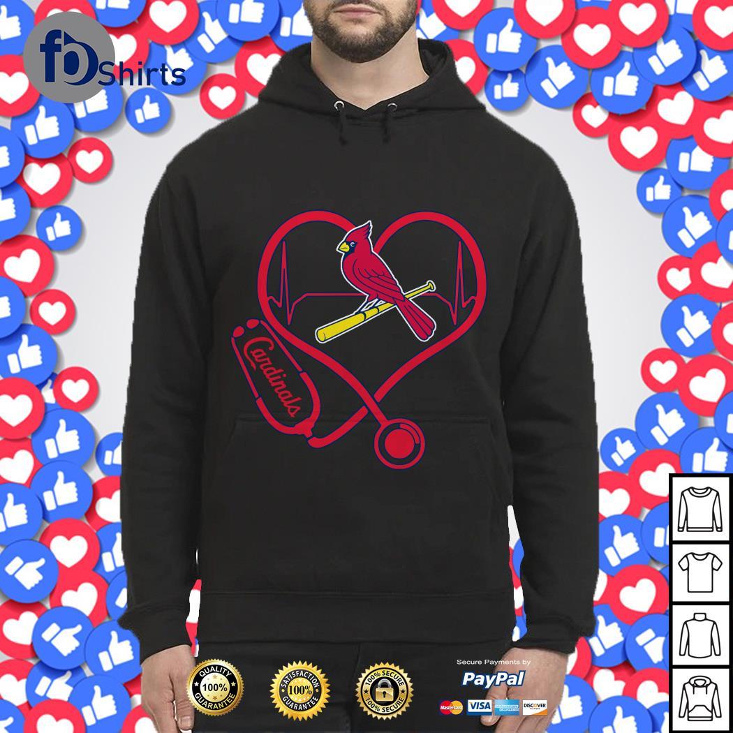 Stethoscope St. Louis Cardinals shirt
