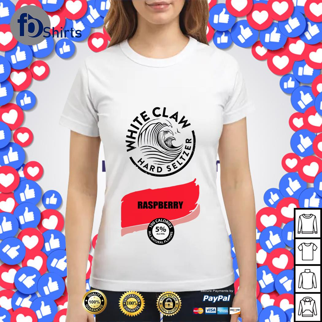 White Claw Halloween Costume Raspberry Ladies tee