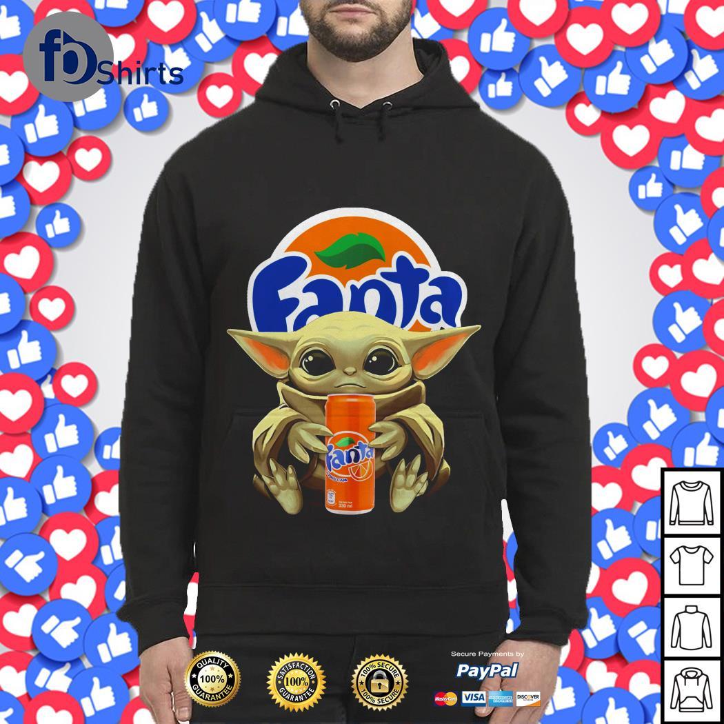 Baby Yoda hug Fanta shirt