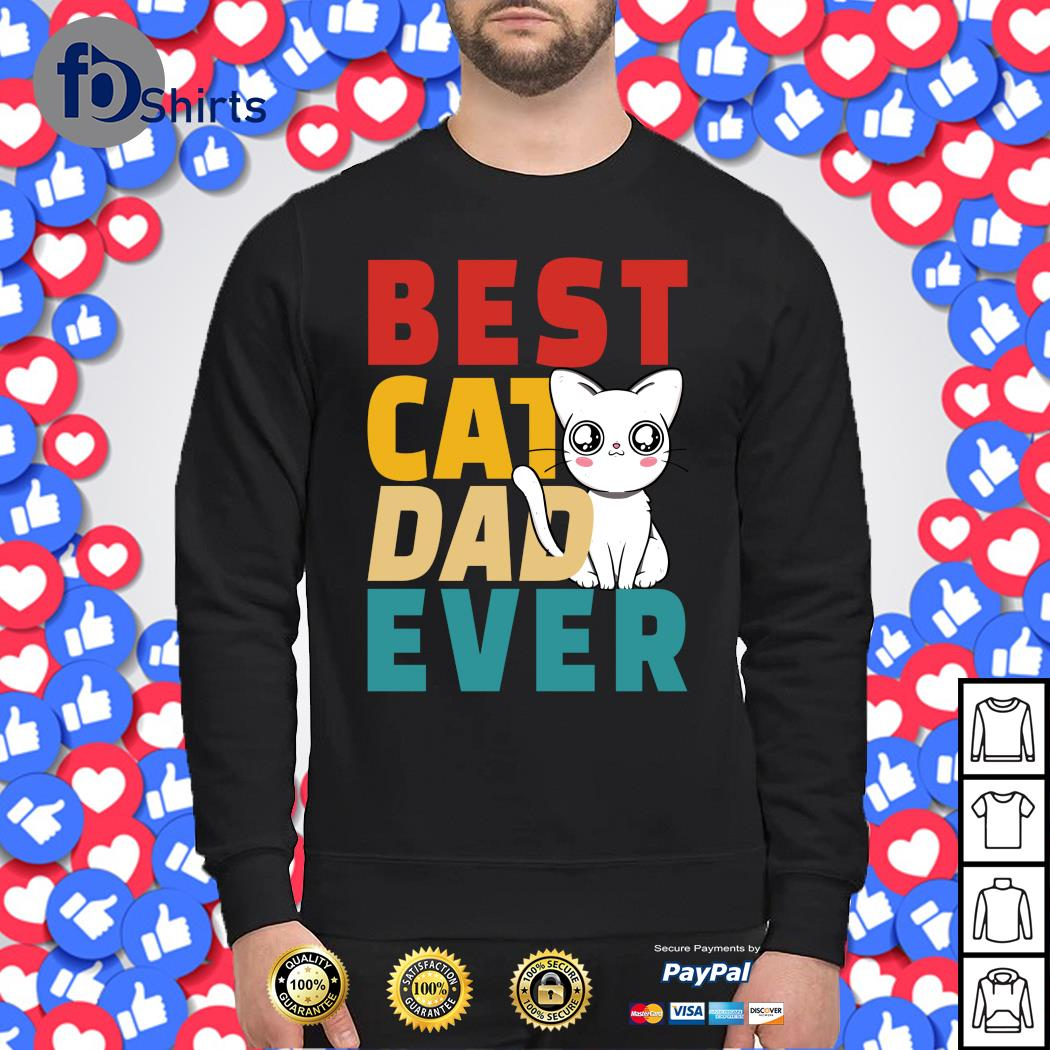 Best cat dad ever s sweater