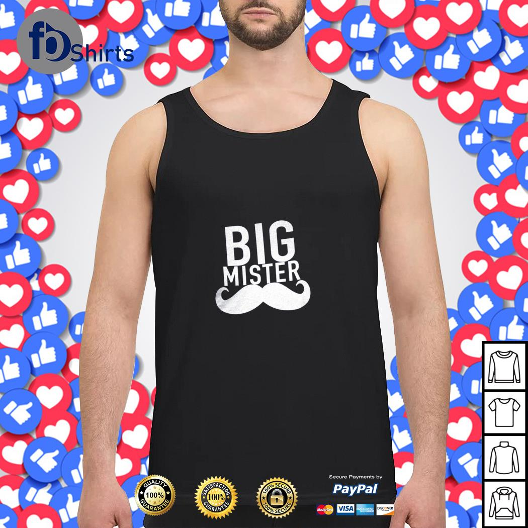 Big mister to a little sister s tank-top