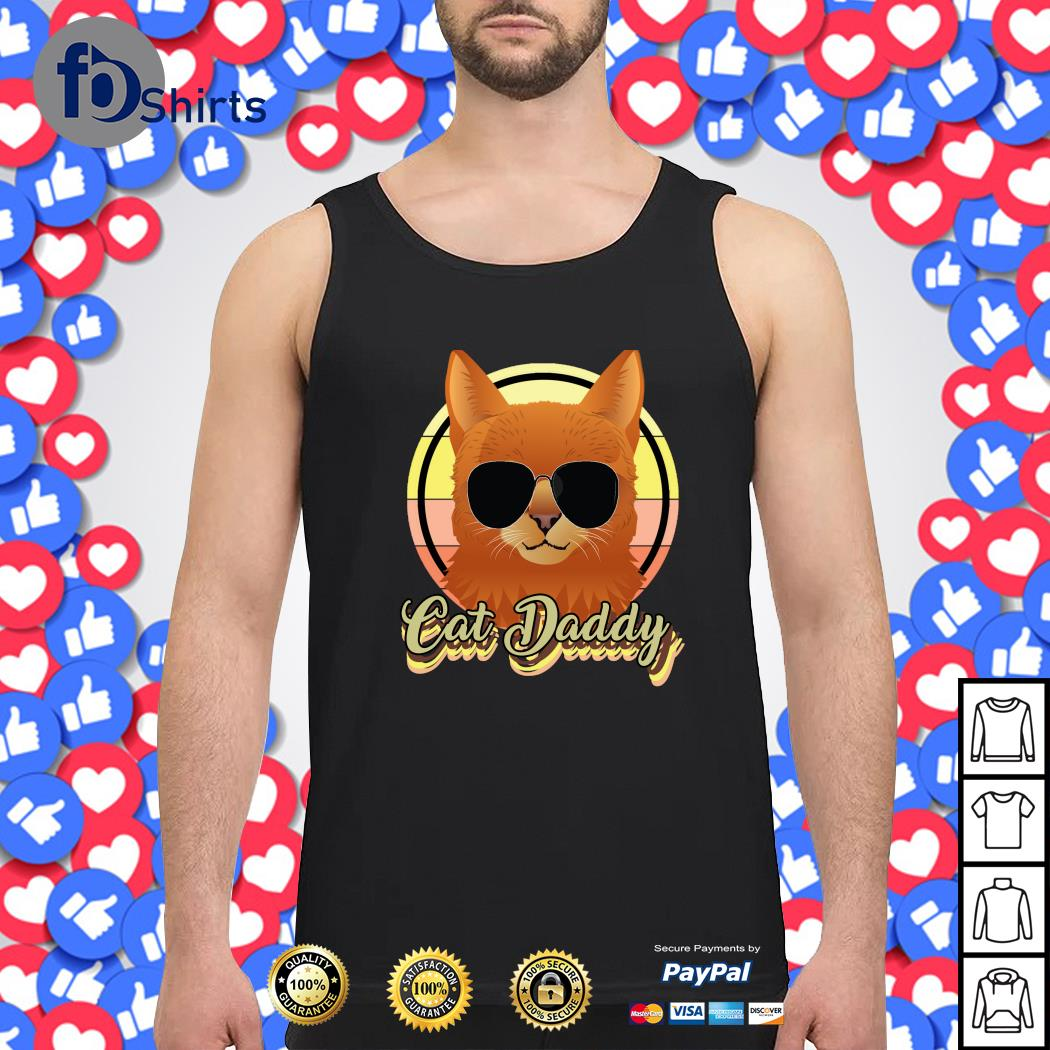 Cat daddy vintage s tank-top