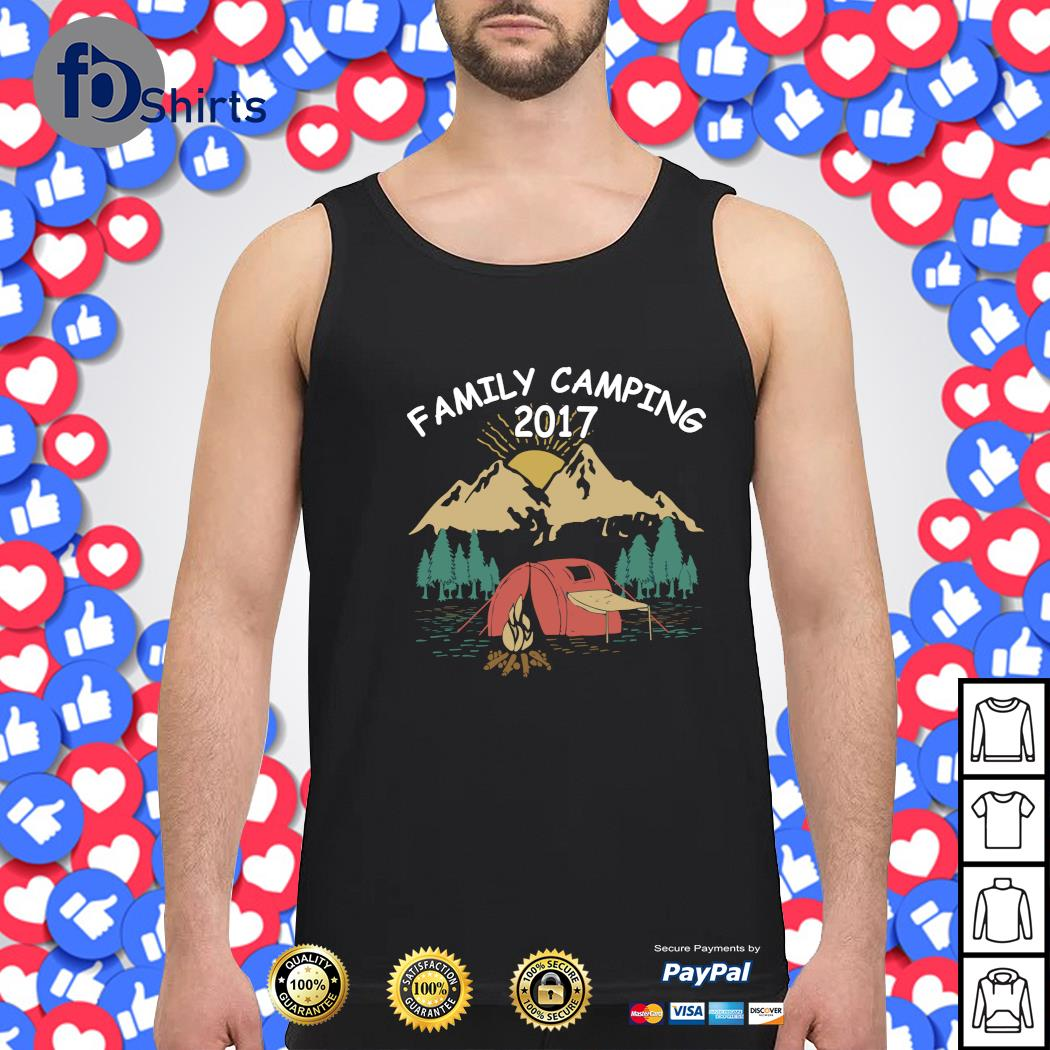 Family camping 2017 s tank-top