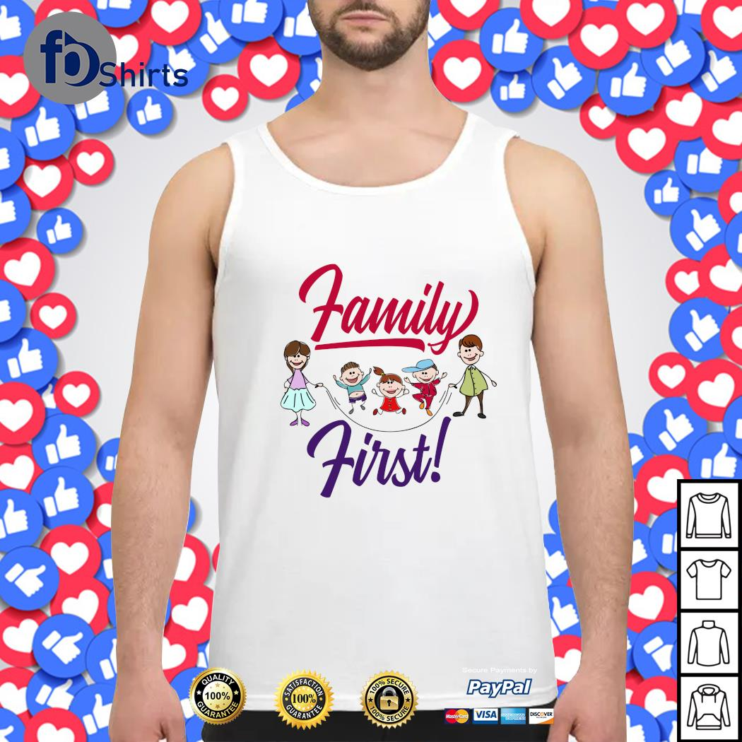 Mom and dad family first s tank-top