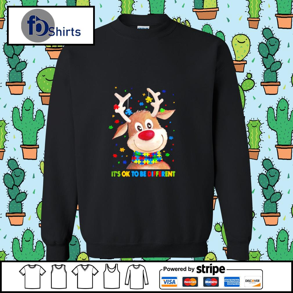 Autism Awareness Reindeer Its Ok To Be Different s sweater