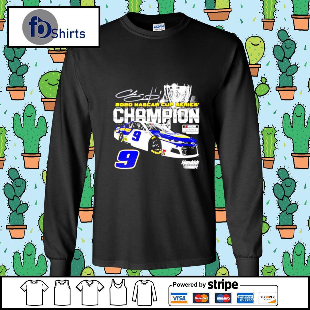 Chase Elliott Championship Nascar Winner 2020 Car s longsleeve-tee