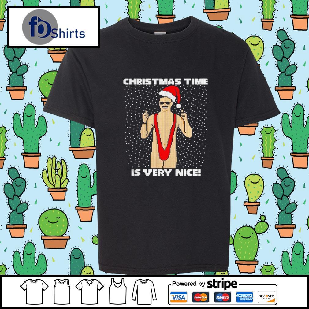 Christmas Time Is Very Nice Ugly s youth-tee