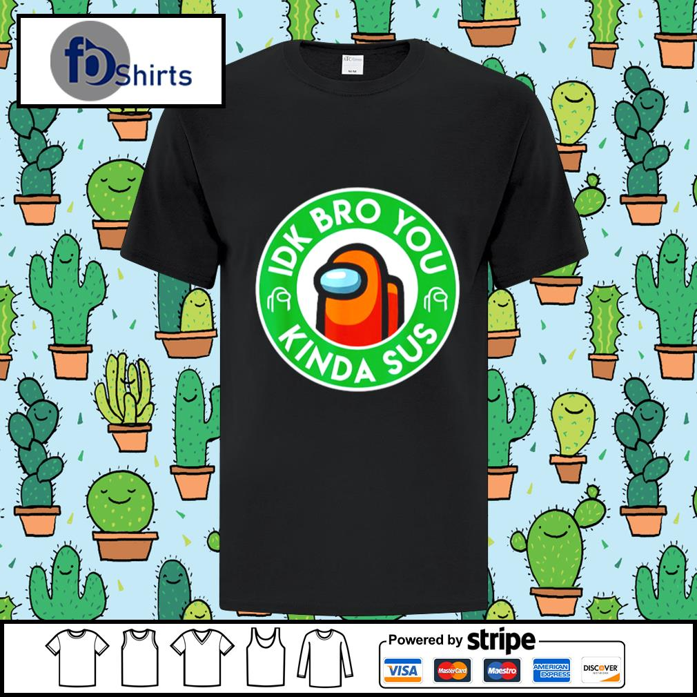 Gaming Meme Impostor Coffee Among Game Us Sus New Shirt