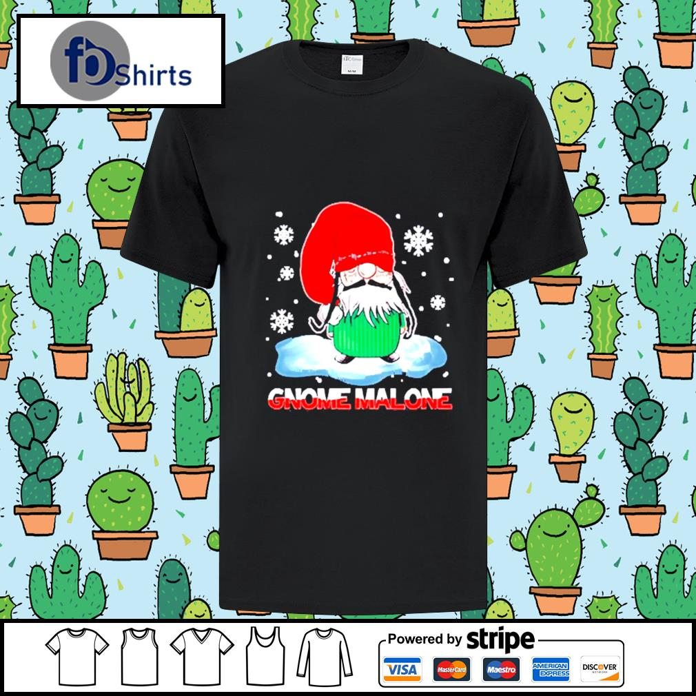 Gnome Malone christmas shirt