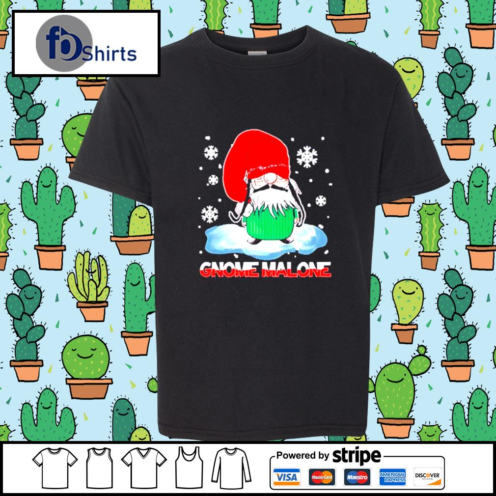 Gnome Malone christmas s youth-tee
