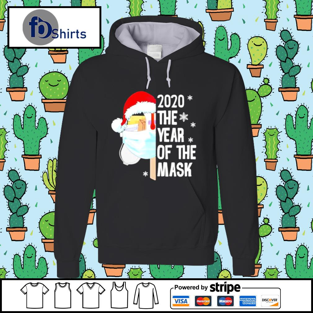 Mailbox Santa 2020 The Years Of The Mask Christmas s hoodie