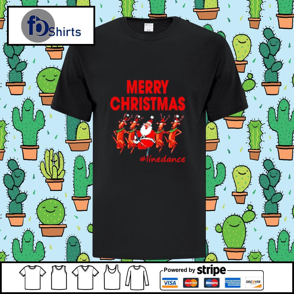 Santa Clau Merry Christmas Line Dancing shirt