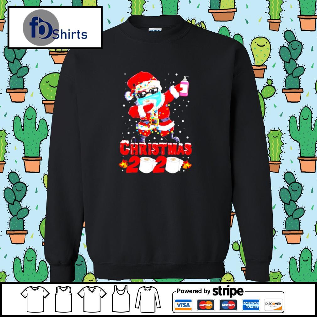 Santa Claus Dabbing Toilet Paper Merry Christmas 2020 s sweater