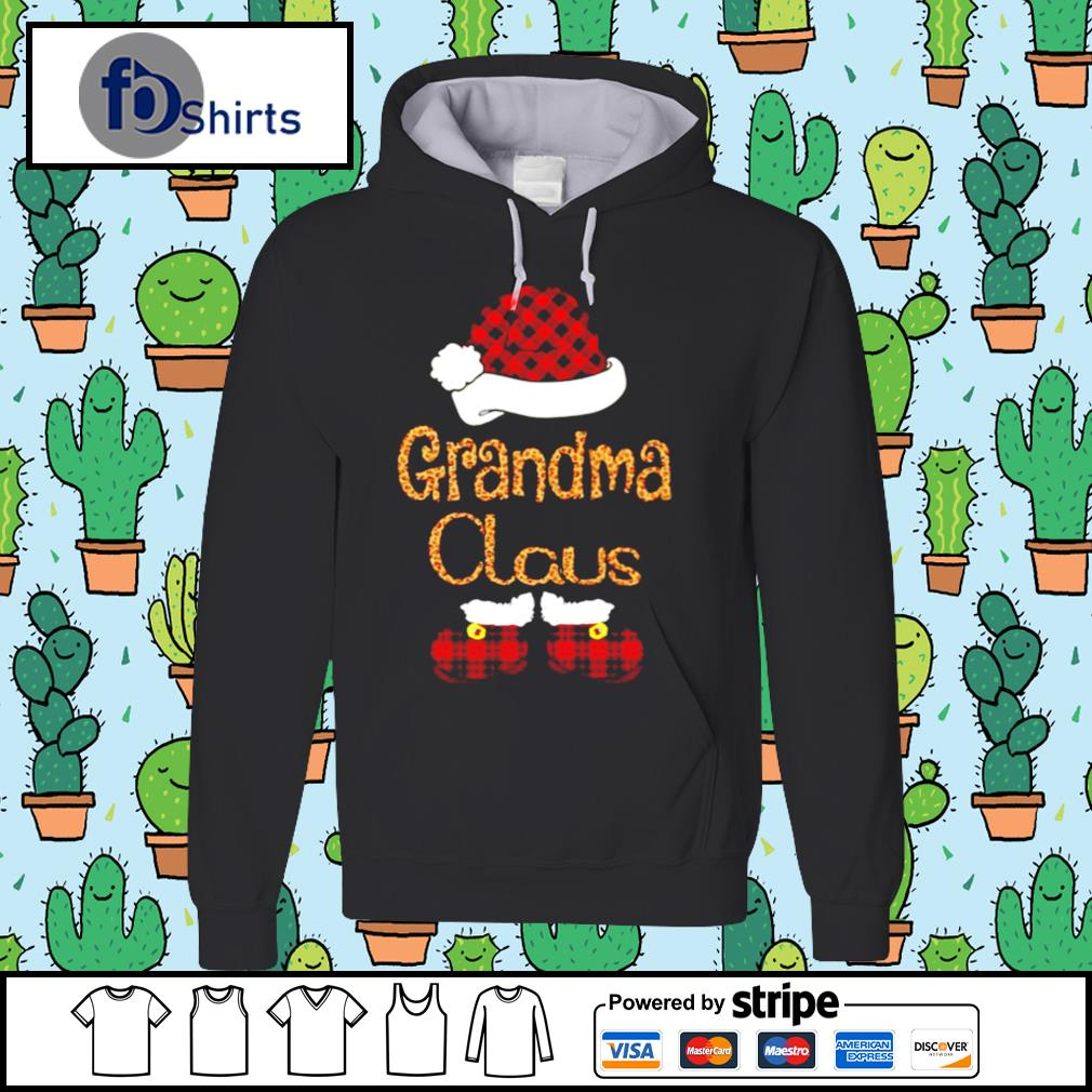 Santa Claus Grandma Claus s hoodie