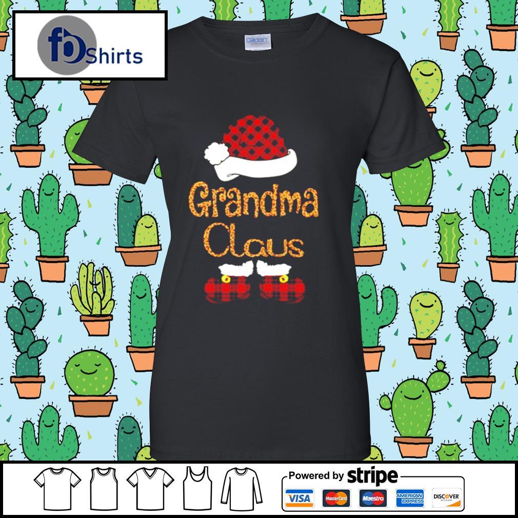 Santa Claus Grandma Claus s ladies tee