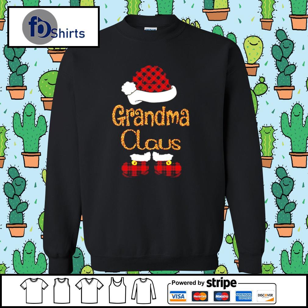 Santa Claus Grandma Claus s sweater
