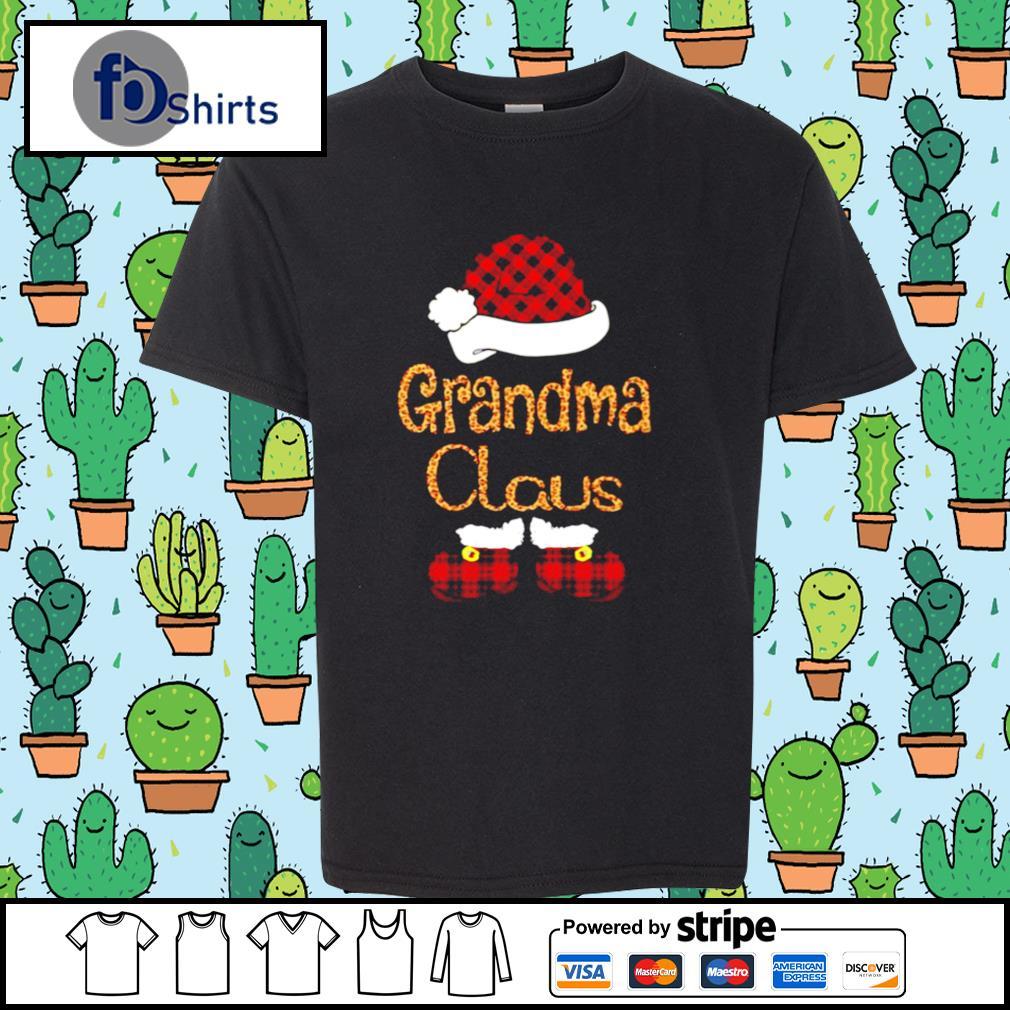 Santa Claus Grandma Claus s youth-tee