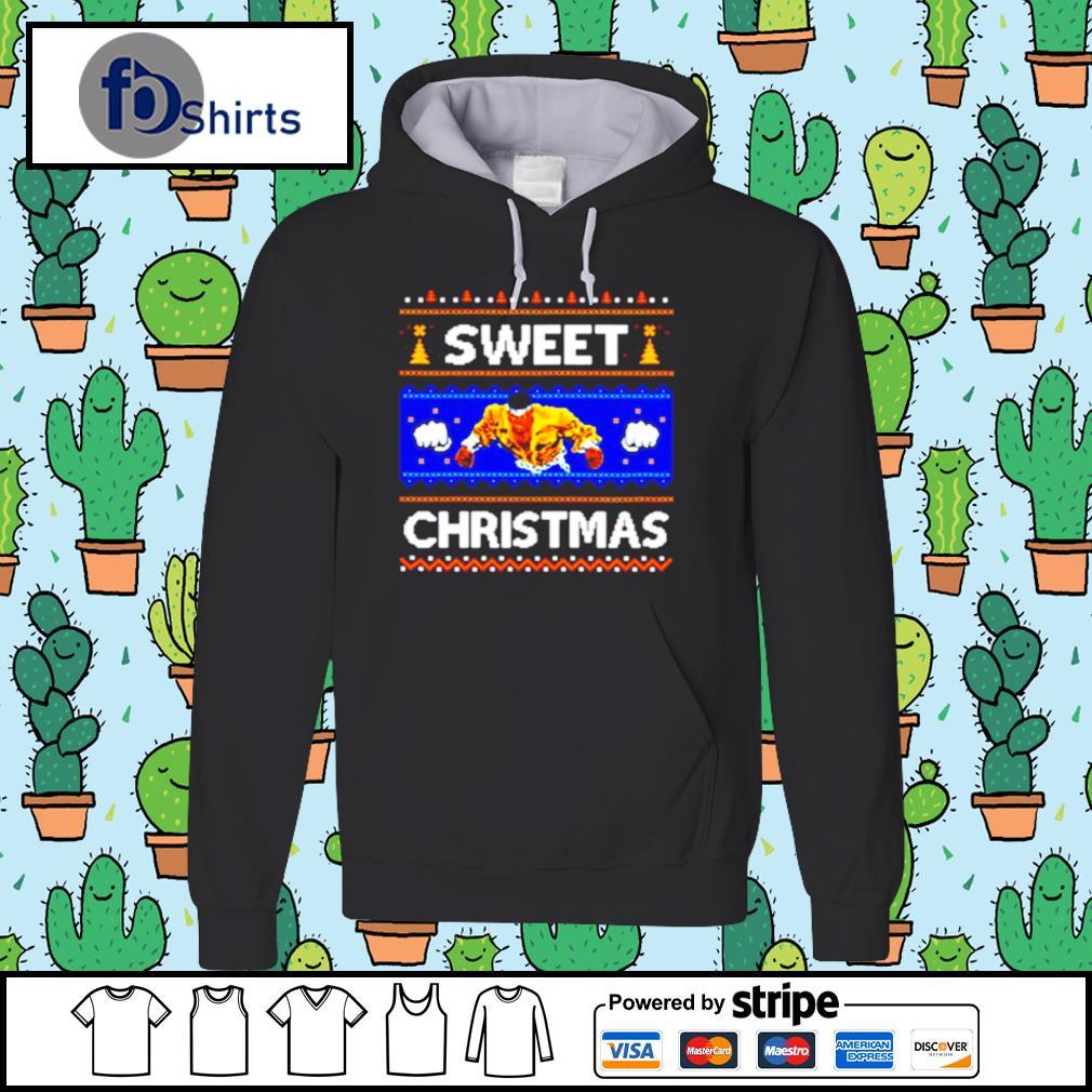 Sweet Christmas Ugly s hoodie
