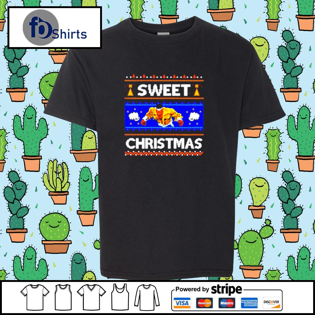 Sweet Christmas Ugly s youth-tee